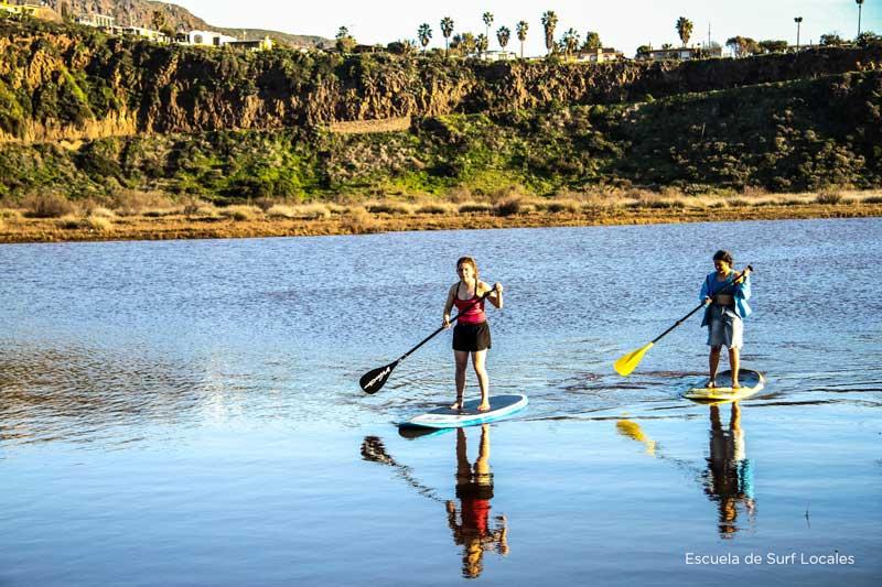 paddleboarding rosarito escuela locales
