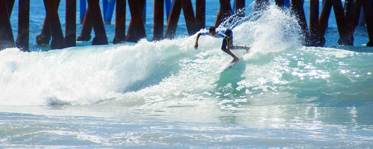 Surfing Rosarito Baja California Mexico