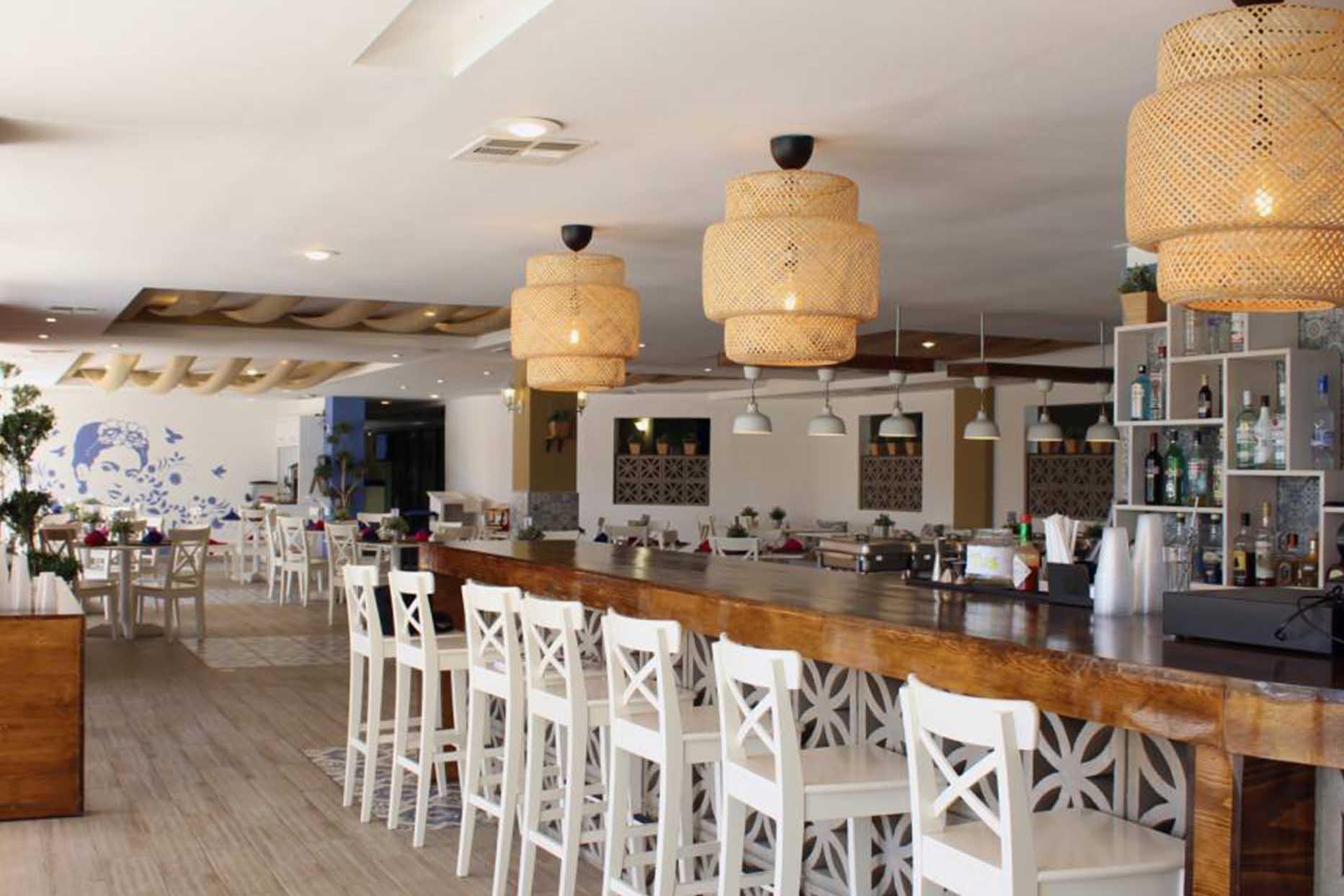 Hotel Corona en Rosarito restaurante