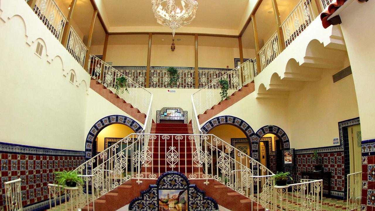 Hotel Rosarito Beach lobby
