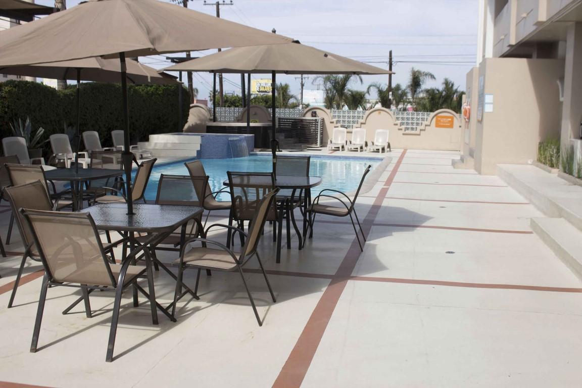 Del Mar Inn alberca