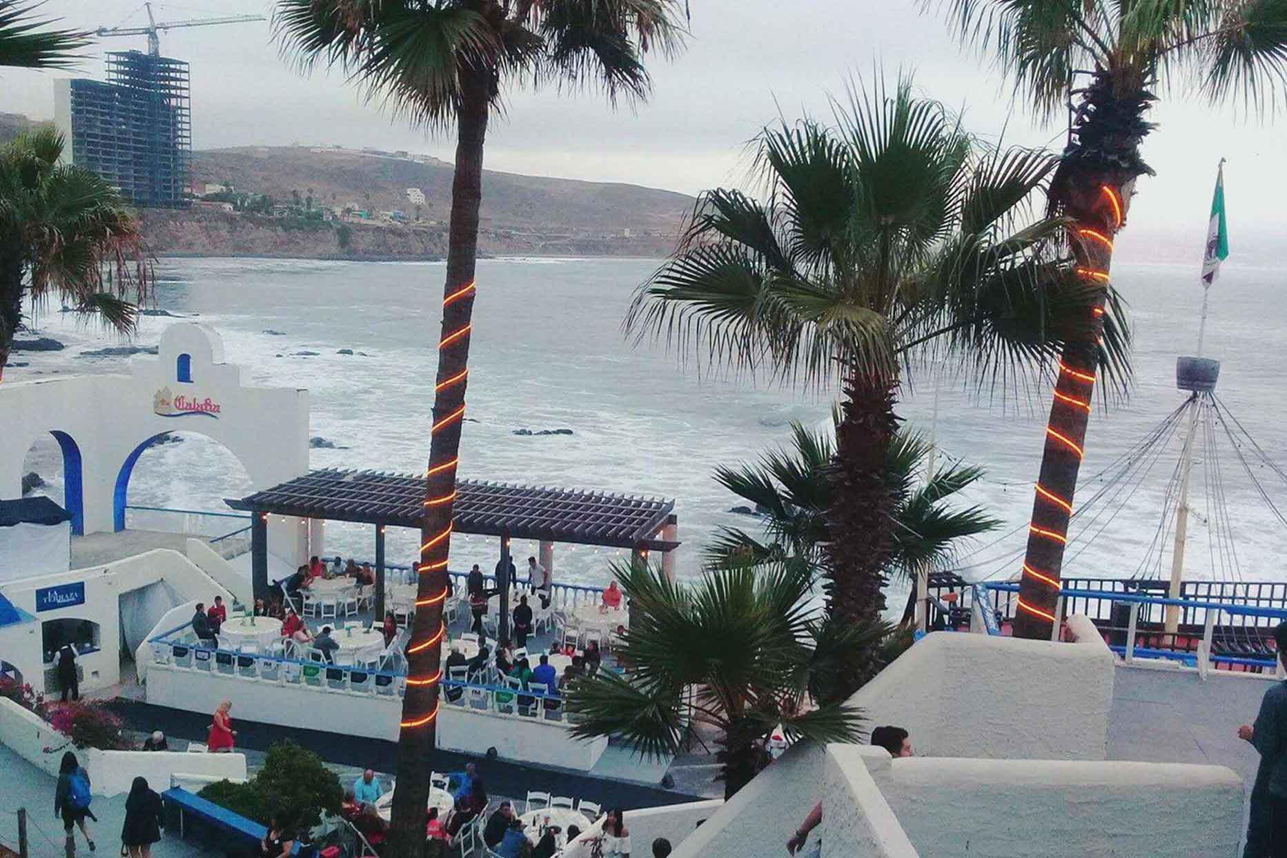 Hotel Calafia restaurant