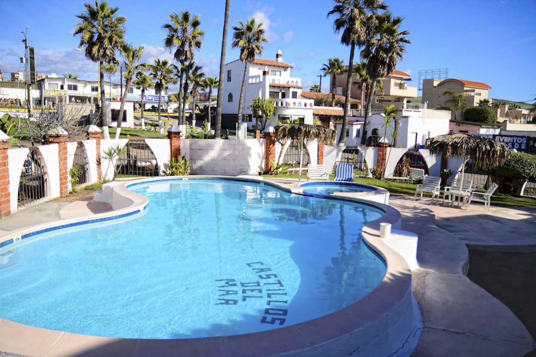 Hotel Castillos del Mar alberca