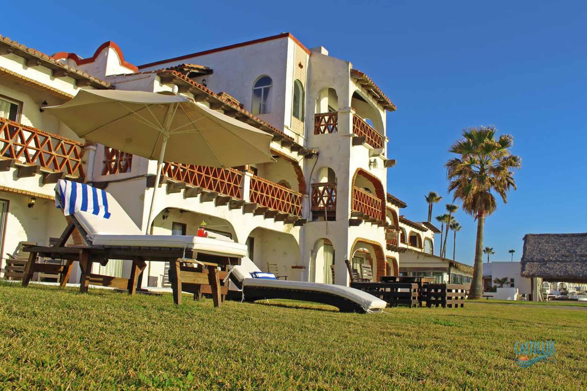 Hotel Castillos del Mar vista