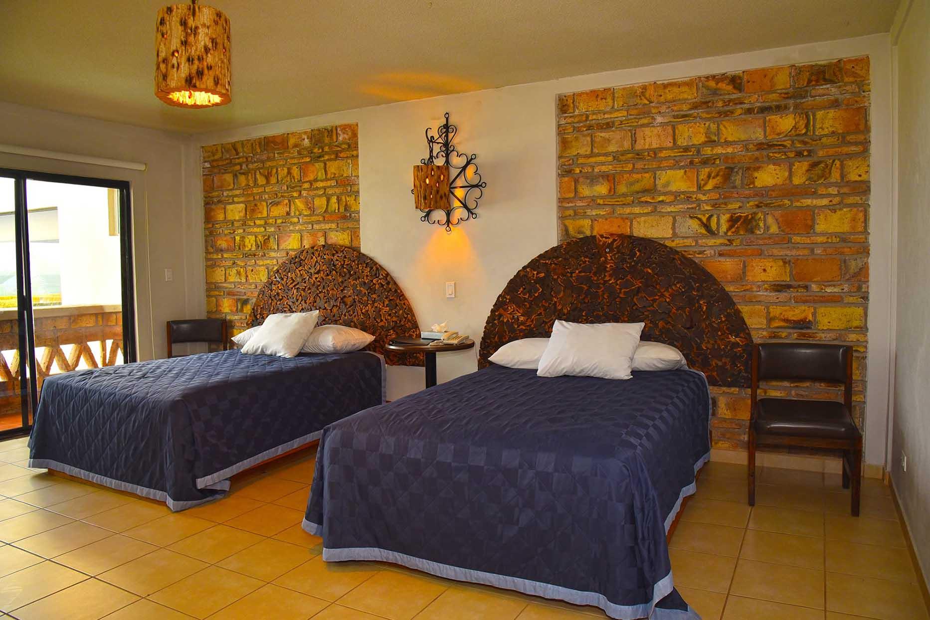 Hotel Los Pelicanos habitacion doble