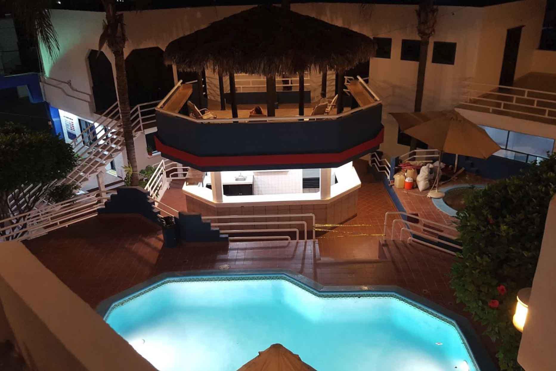 Hotel Mediterraneo vista