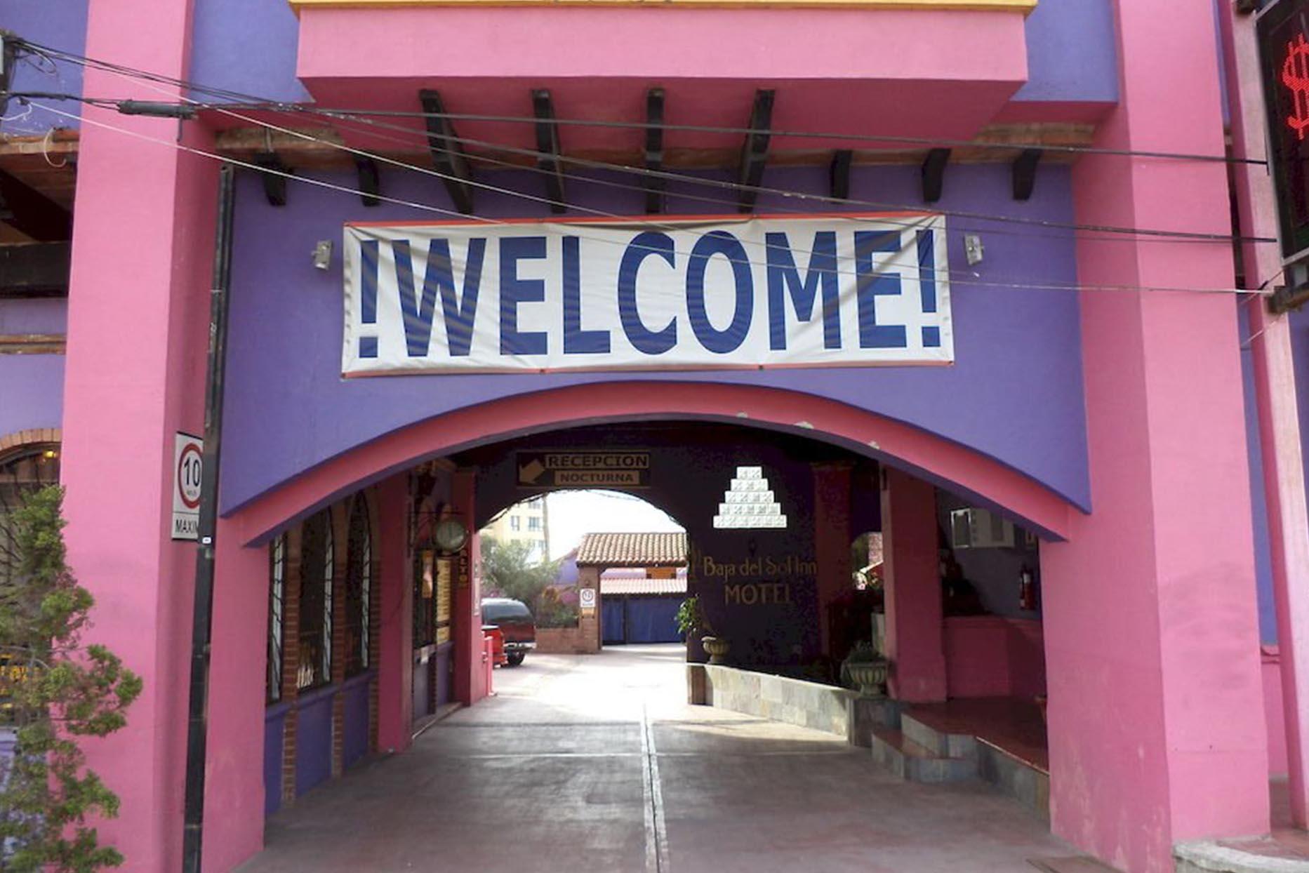 Motel Baja Del Sol Inn entrada