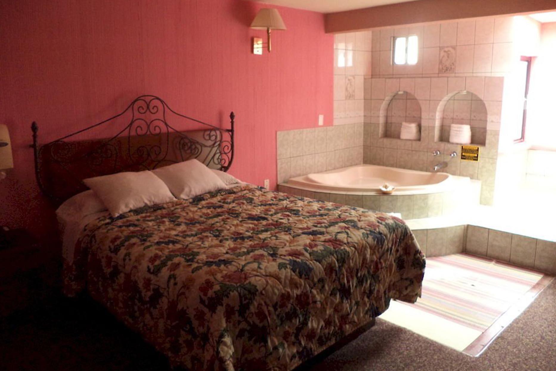 Motel Baja Del Sol Inn recamara