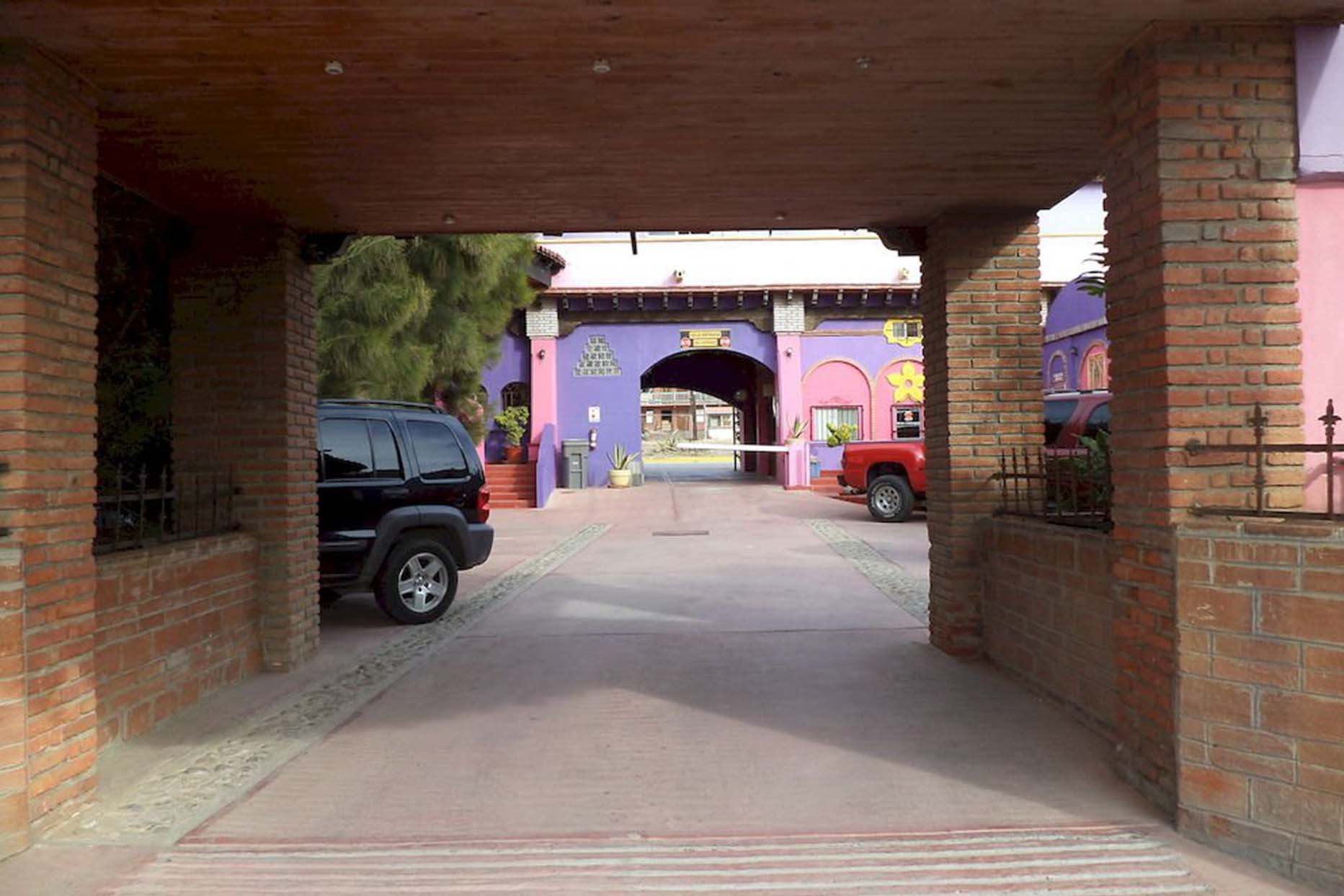 Motel Baja Del Sol Inn salida