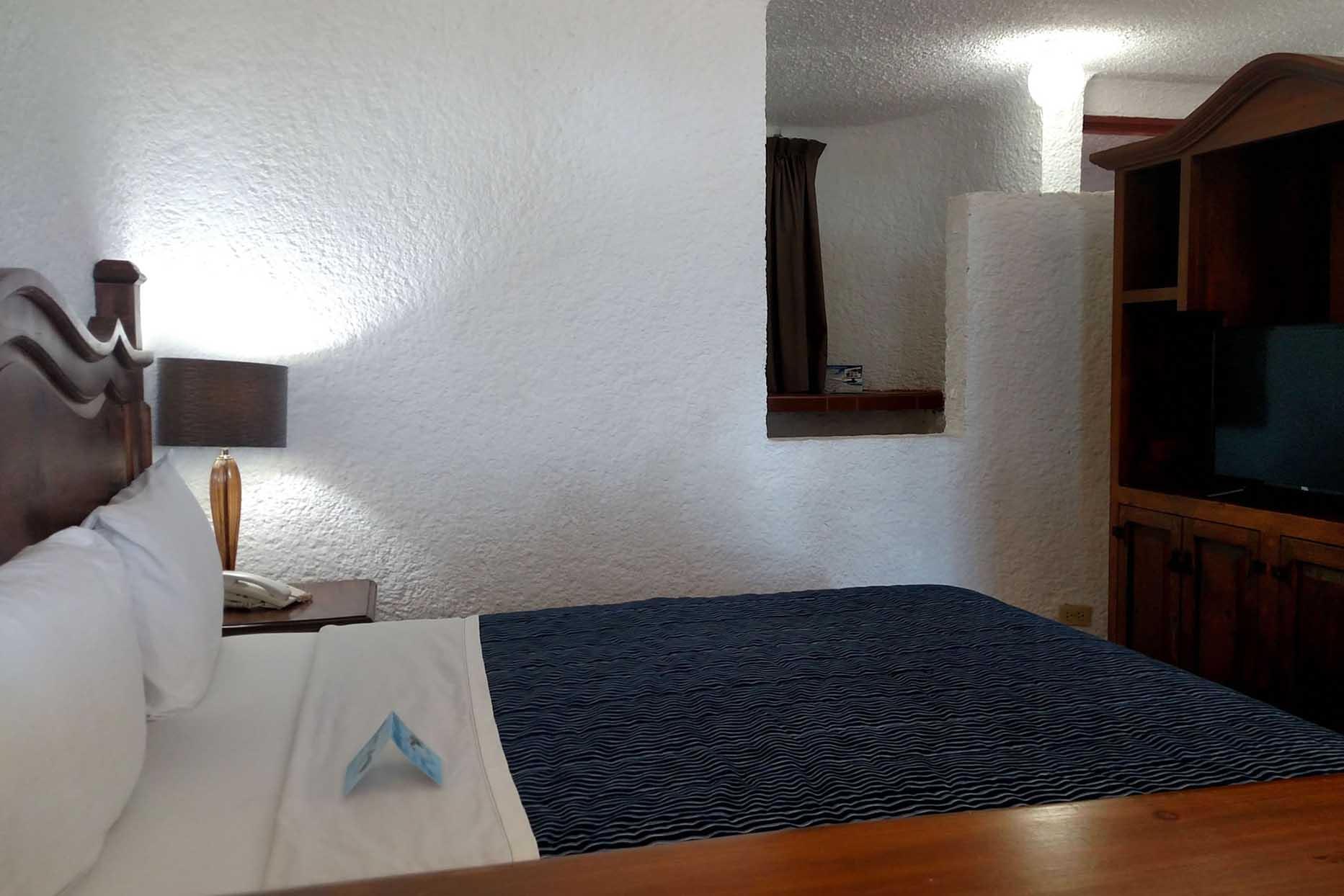 Puerto Nuevo Hotel y Villas en Rosarito recamara