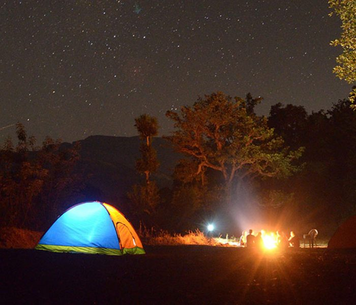 lugares para acampar en Rosarito