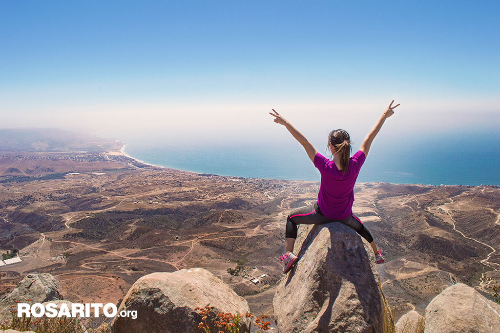 Cerro el Coronel Rosarito Baja California