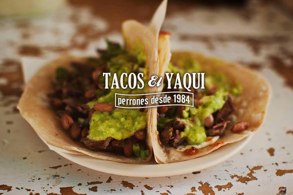 Tacos El Yaqui en Rosarito